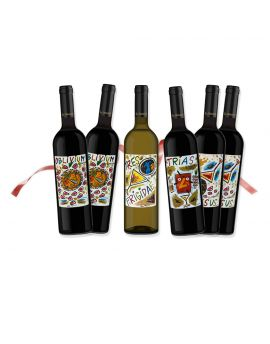 Box da 6 bottiglie, Tres Frigidae Pallagrello Omaggio
