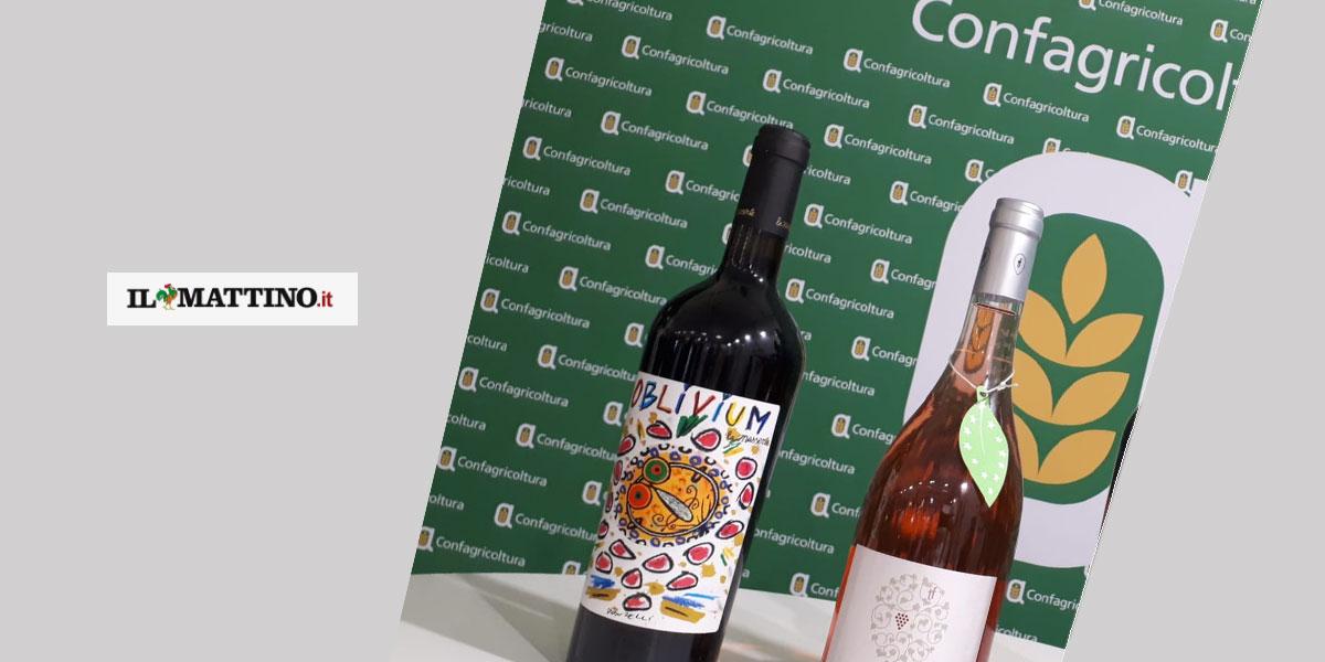 """Il premio """"La Masserie"""" di Bellona trionfa al Vinitaly con l'opera di Donzelli sulle bottiglie"""